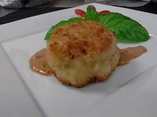 Lump Crab Cake from Murrells Inlet Seafood