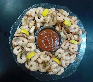 Shrimp Platter from Murrells Inlet Seafood