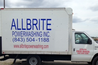 Allbrite Powerwashing Truck