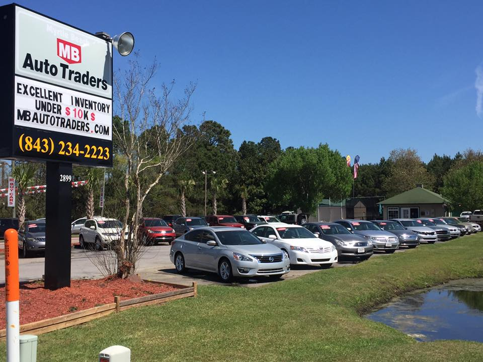 Myrtle Beach Auto Traders Outside