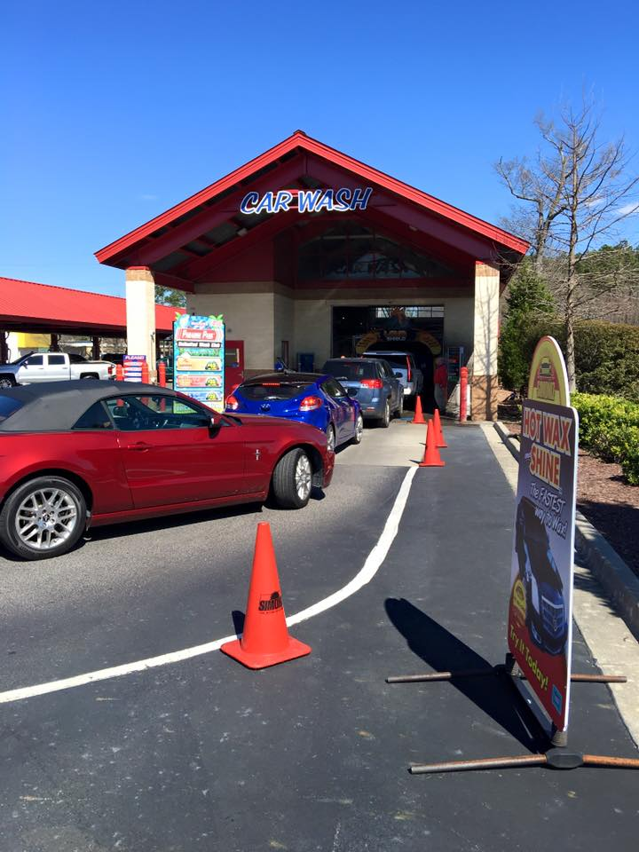 Detrick's Car Wash Drive Thru