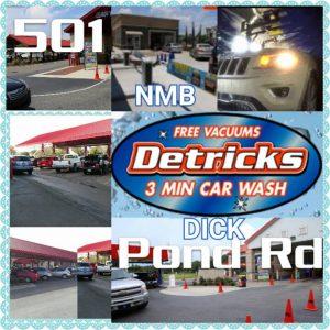 Detrick's Car Wash Locations